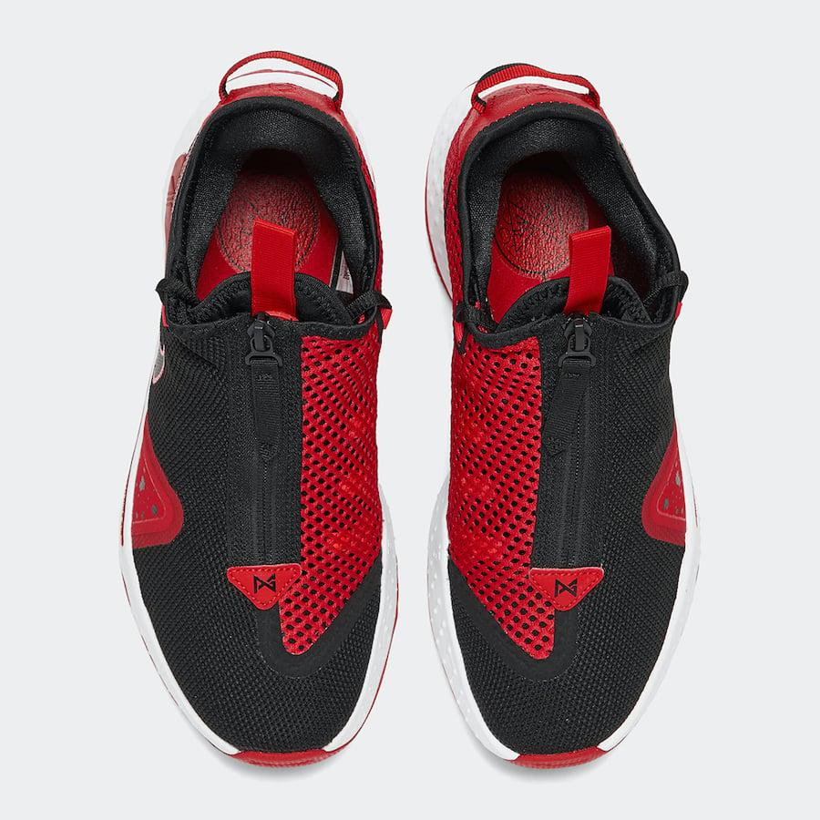 Nike PG 4 Black University Red CD5079-003 Release Date Info
