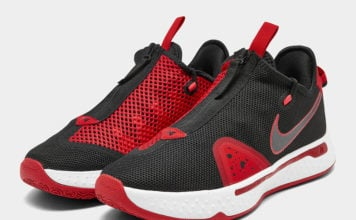 Nike PG 4 Black University Red CD5079-003 Release Date Info