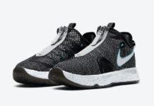 Nike PG 4 Heather Black Blue CD5082-004 Release Date