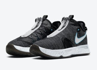 Nike PG 4 Heather Black Blue CD5082-004 Release Date