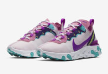 Nike React Element 55 Magic Flamingo BQ2728-603 Release Date Info