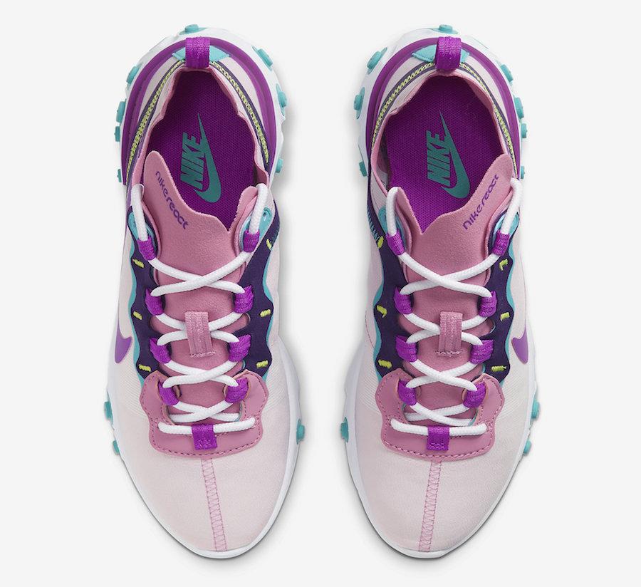 Nike React Element 55 Magic Flamingo BQ2728-603 Release Date Info