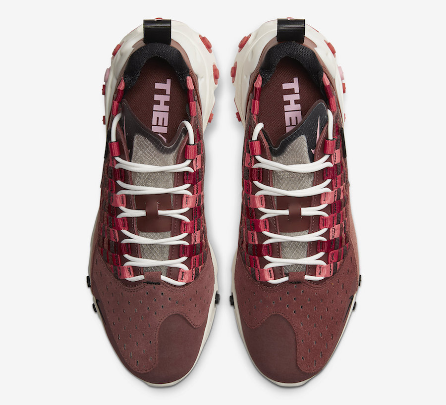 Nike React Sertu Maroon Sail AT5301-200 Release Date Info