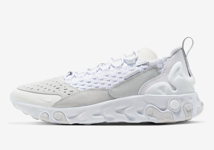 Nike React Sertu Triple White AT5301-100 Release Date Info