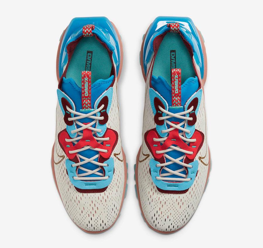 Nike React Vision Desert Oasis CD4373-001 Release Date Info