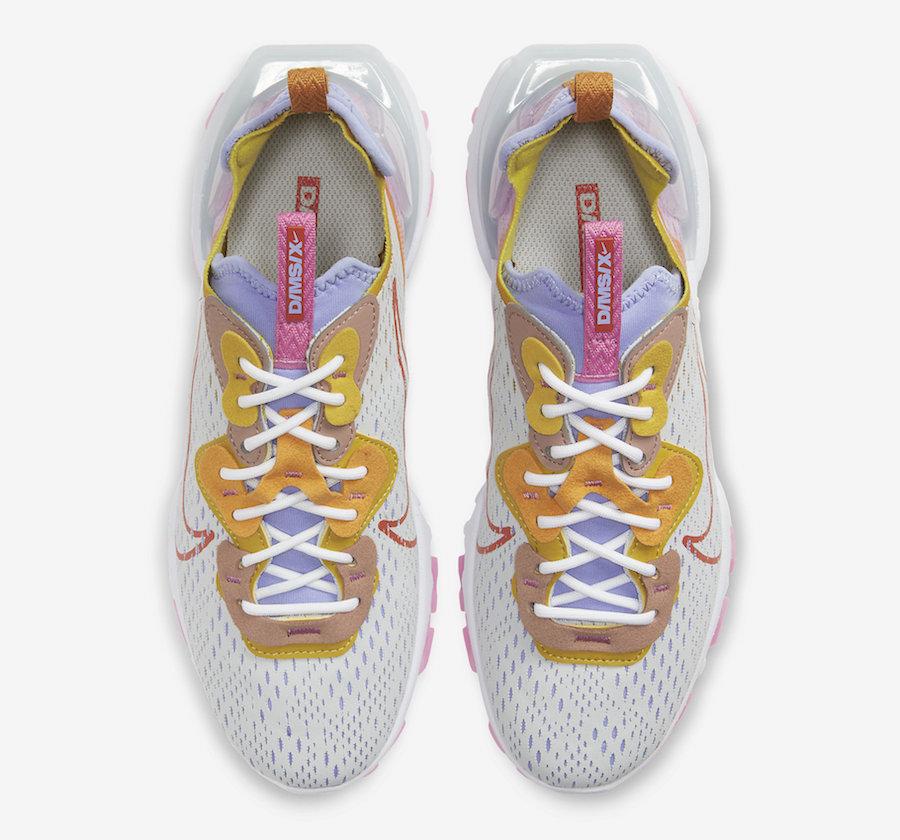 Nike React Vision Saffron CI7523-003 Release Date Info