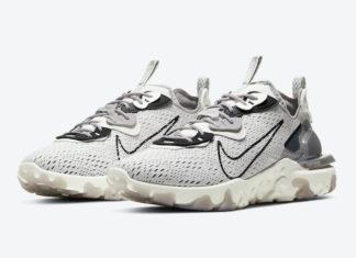 Nike React Vision Vast Grey CD4373-005 Release Date Info