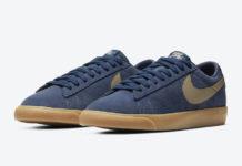 Nike SB Blazer Low GT Midnight Navy Gum 704939-403 Release Date Info