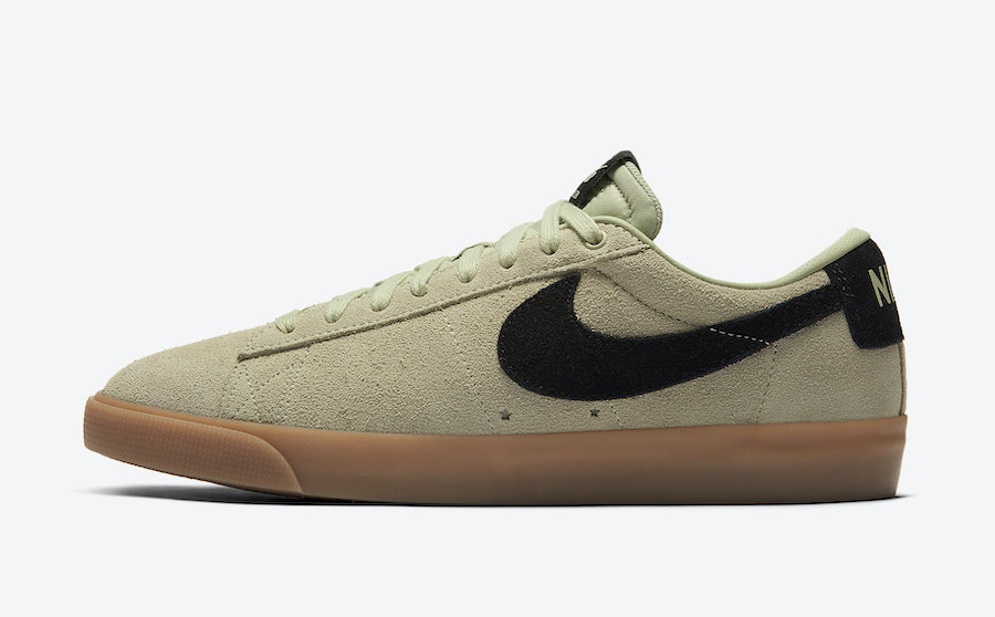Nike SB Blazer Low Olive Aura 704939-303 Release Date Info