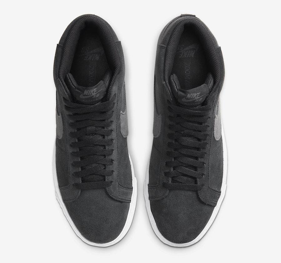 Nike SB Blazer Mid Black Grey 864349-006 Release Date Info