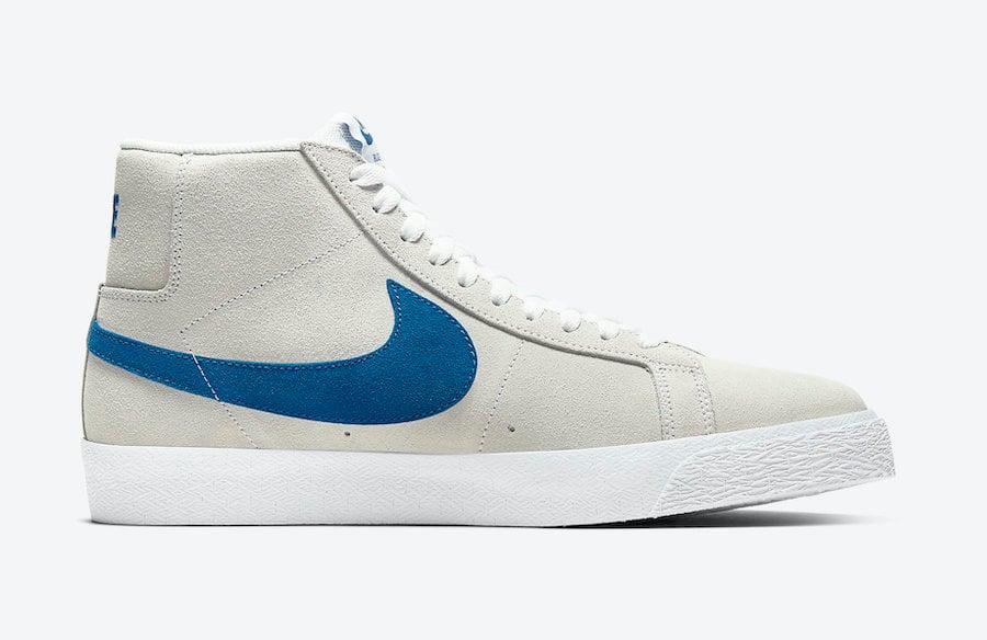 Nike SB Blazer Mid Laser Blue 864349-104 Release Date Info