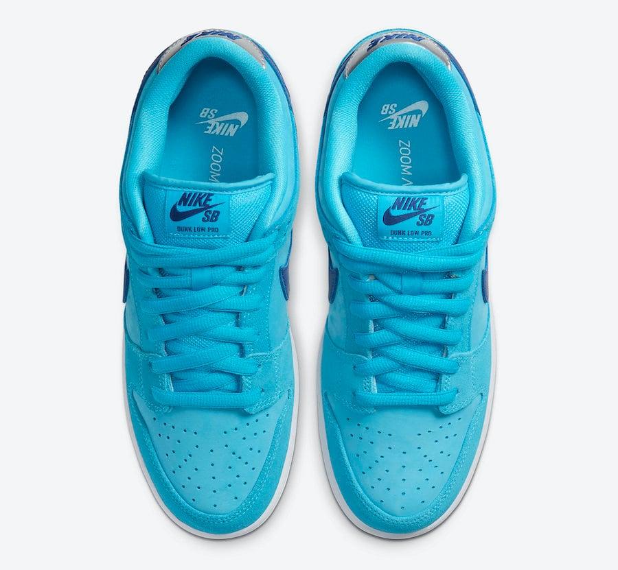 Nike SB Dunk Low Blue Fury BQ6817-400 Release Date