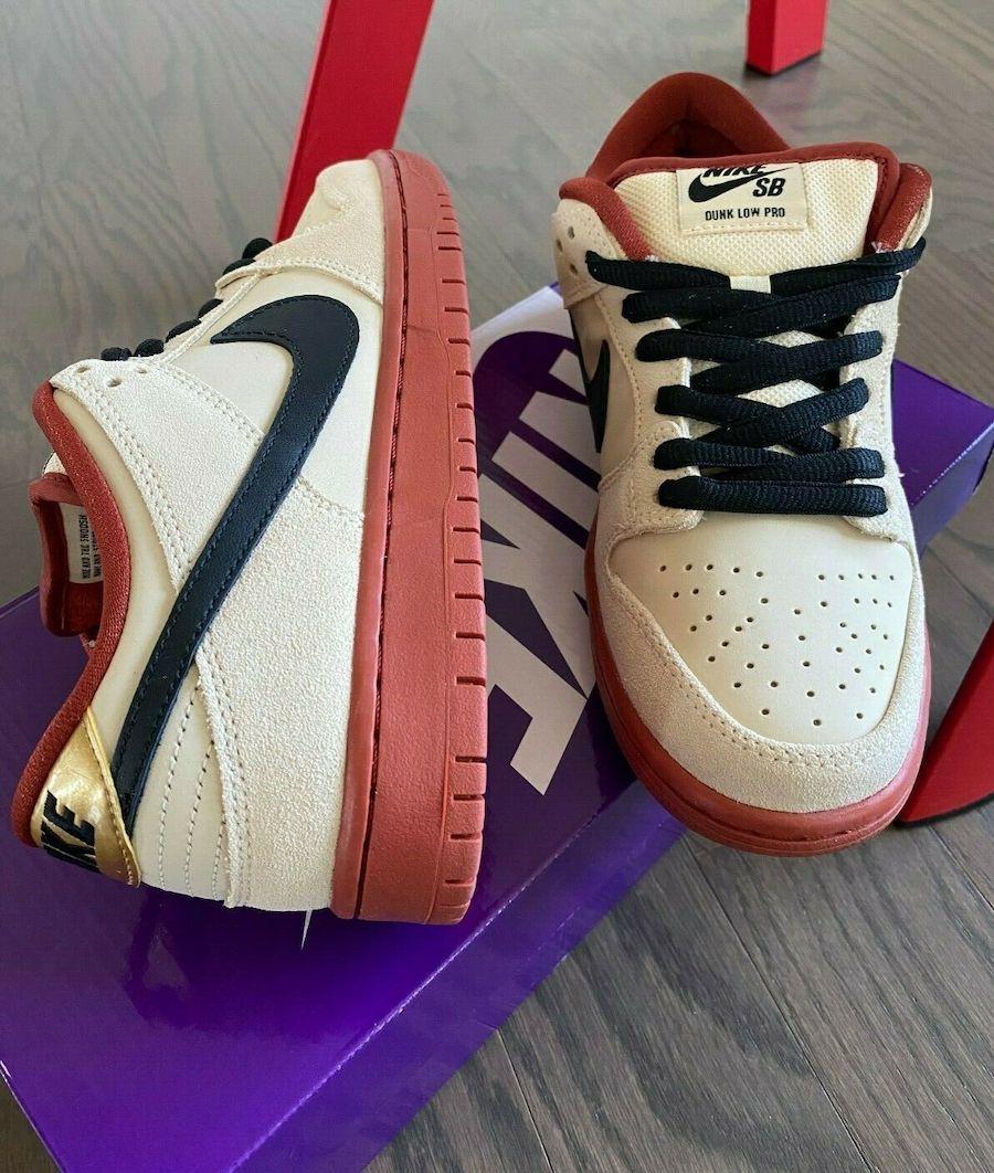 Nike SB Dunk Low Muslin BQ6817-100 Release Date Info