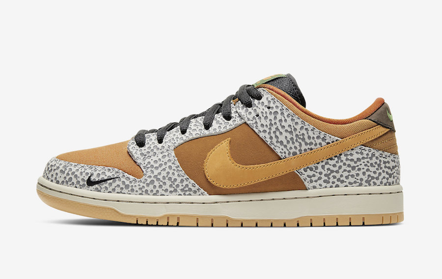 Nike SB Dunk Low Safari CD2563-002 Release Info Price