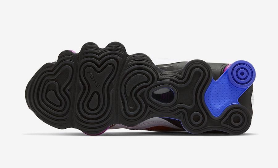 Nike Shox TL Nova White Hyper Violet Racer Blue AT8046-100 Release Date Info