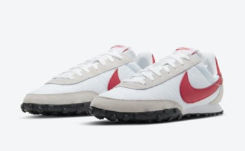 Nike Waffle Racer White Red Grey CN8116-100 Release Date Info