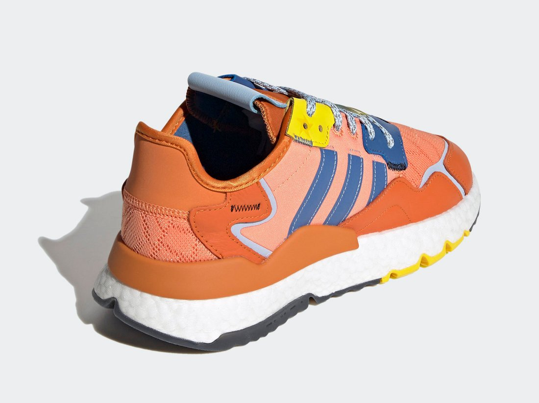 Ninja adidas Nite Jogger Time In Orange Q47199 Release Date