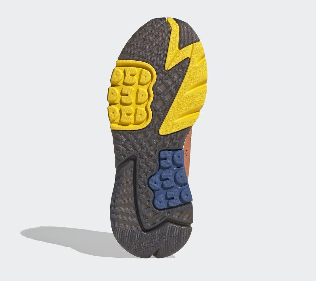 Ninja adidas Nite Jogger Time In Orange Q47199 Release Date