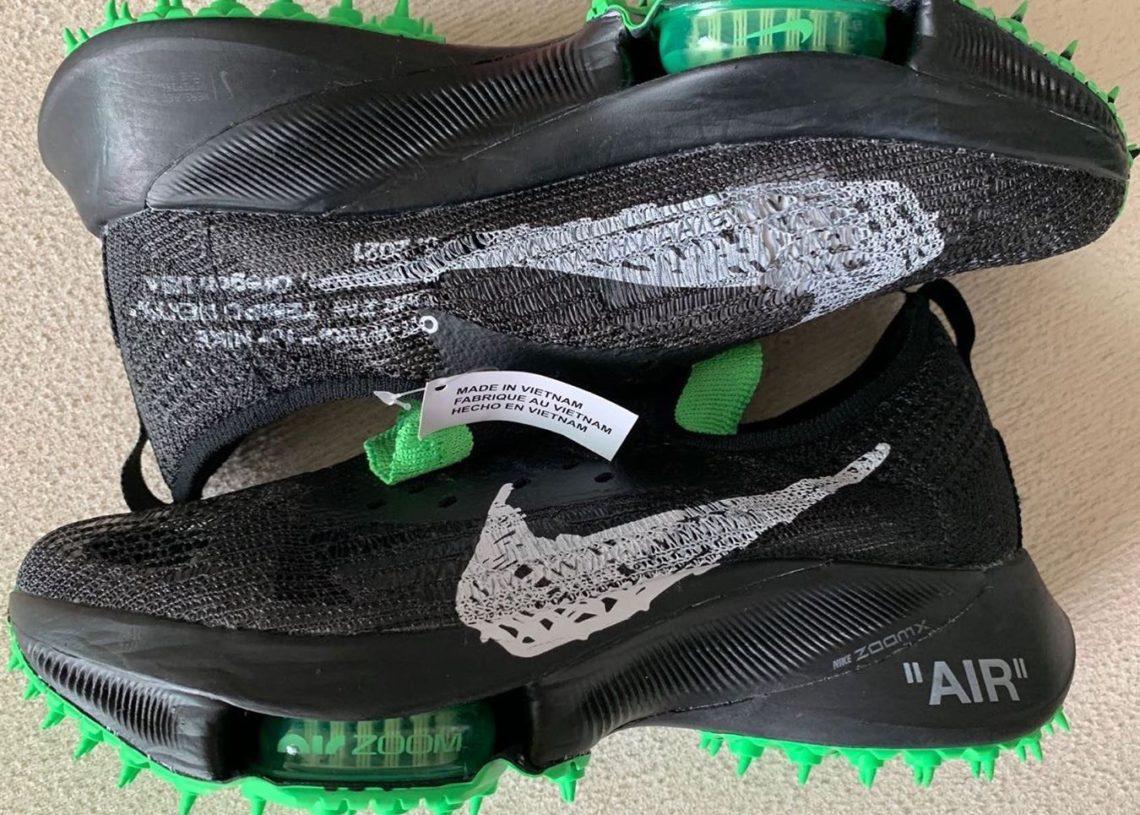 Off-White Nike Air Zoom Tempo NEXT% Black Scream Green