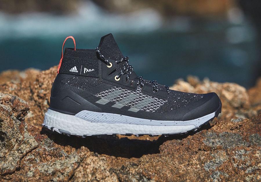 Details about adidas Terrex Free Hiker Boost Mens Walking Shoes Black