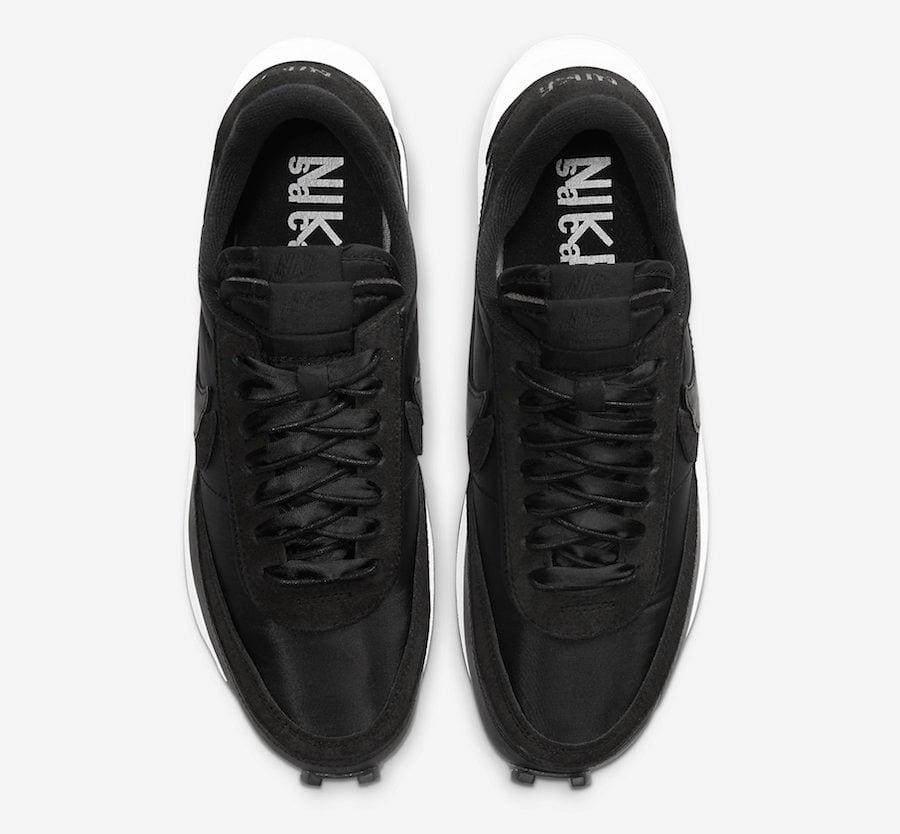 sacai Nike LDWaffle Black Nylon BV0073-002 Release