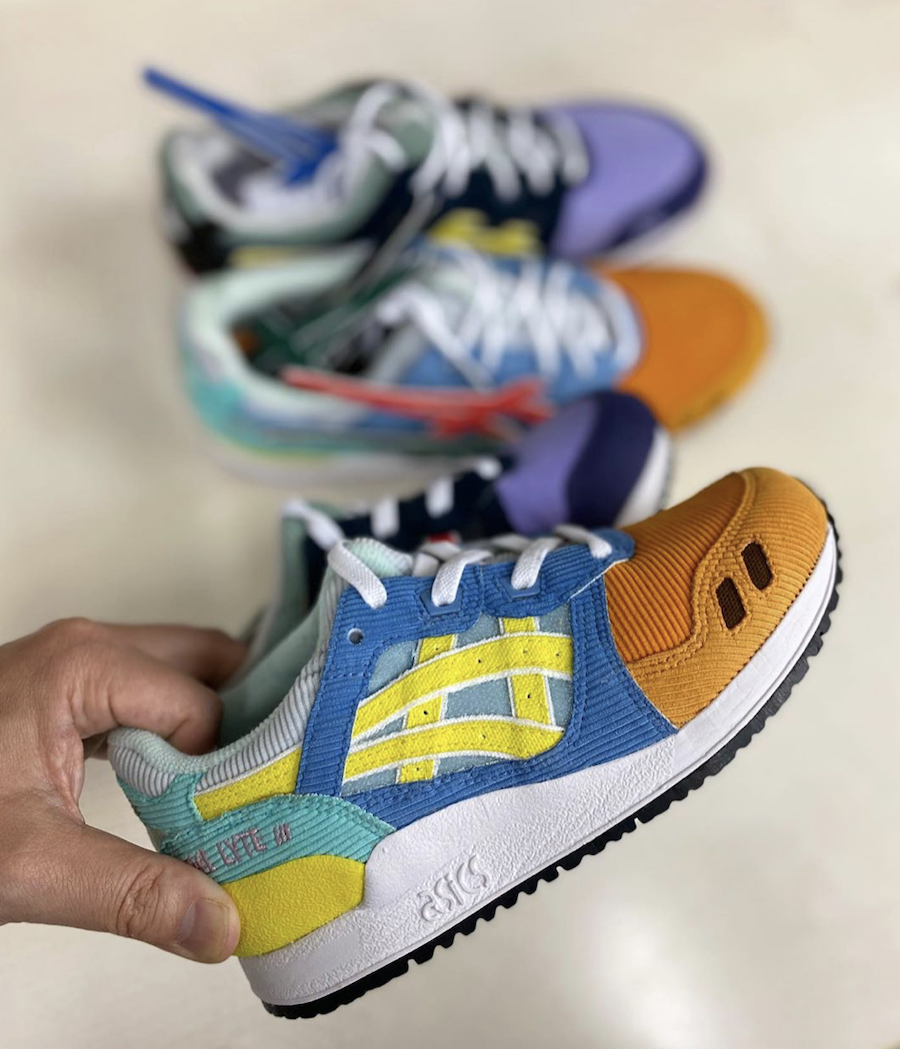 Sean Wotherspoon x atmos Asics Gel Lyte III Kids Sizes