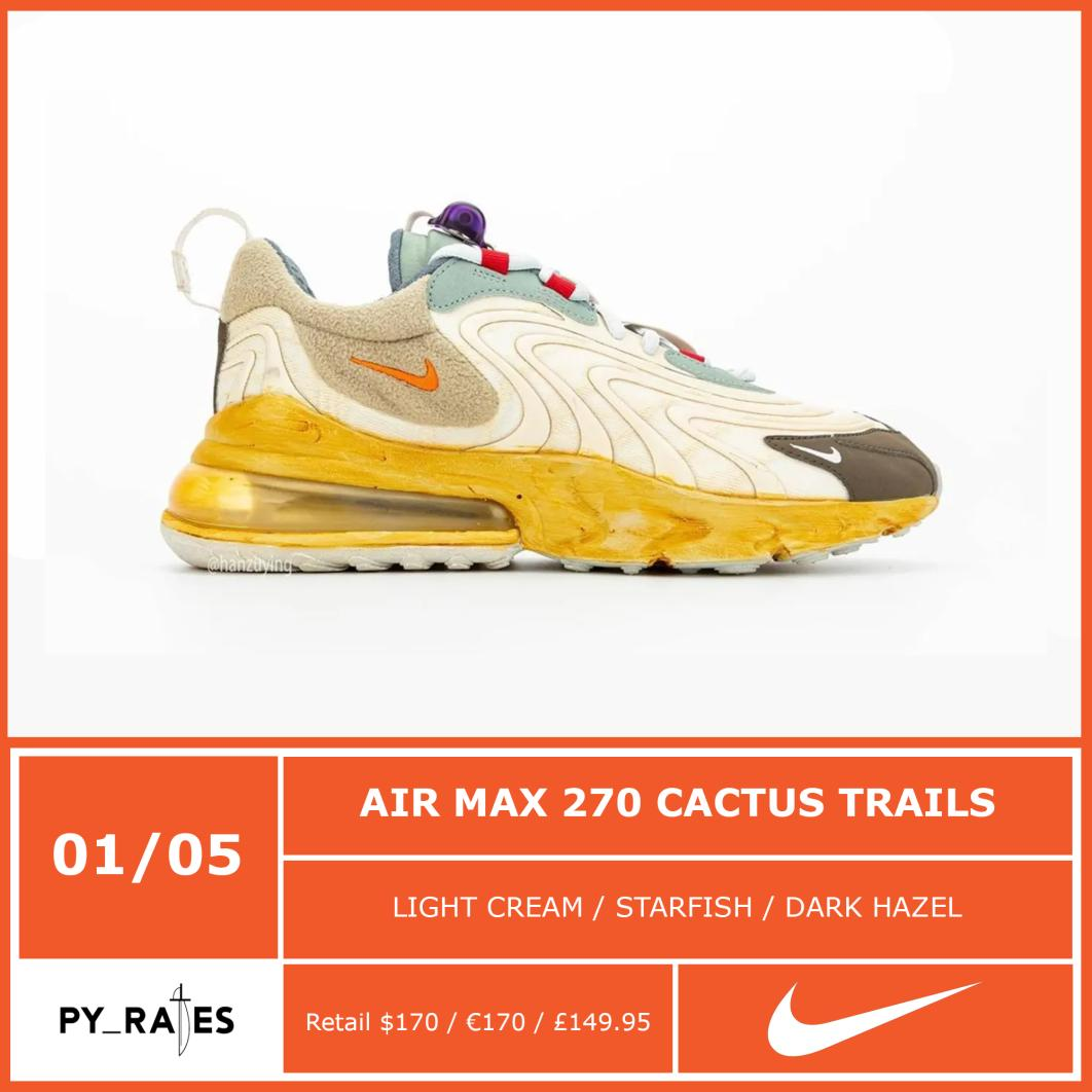 Travis Scott Nike Air Max 270 Cactus Trails Release Date