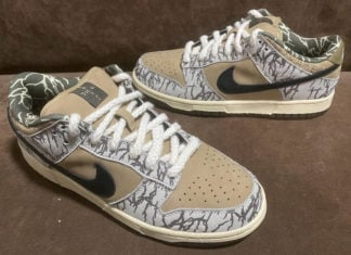 Travis Scott Nike SB Dunk Low Sample 2020
