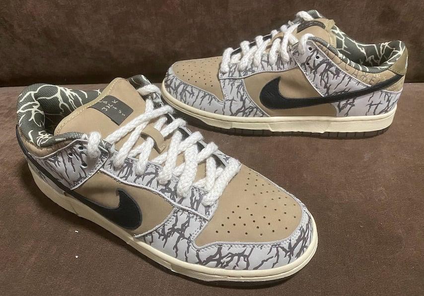 Travis Scott Nike SB Dunk Low Sample 2020