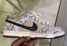 Travis Scott Nike SB Dunk Low Sample