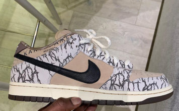 Travis Scott Nike SB Dunk Low Sample