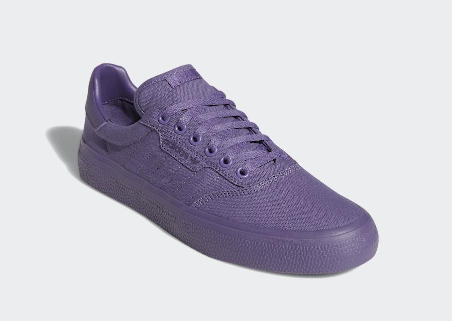 adidas 3MC Tech Purple EG8546 Release Date Info