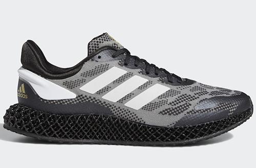 adidas 4D Run 1.0 Black White Gold Release Date