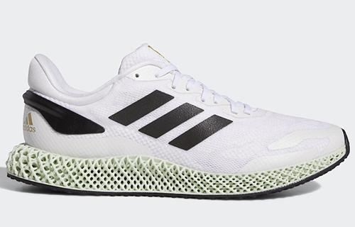 adidas 4D Run 1.0 White Black Gold Release Date