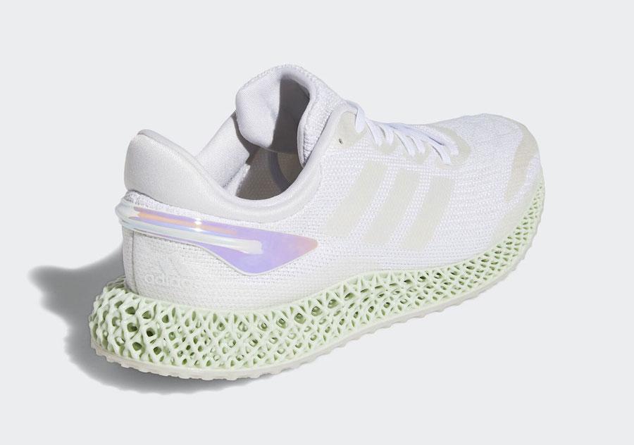 adidas 4D Run 1.0 White Iridescent FW1229 Release Date Info