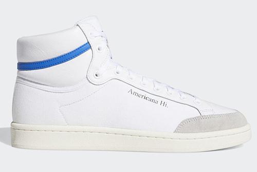 adidas Americana Hi White Blue Release Date