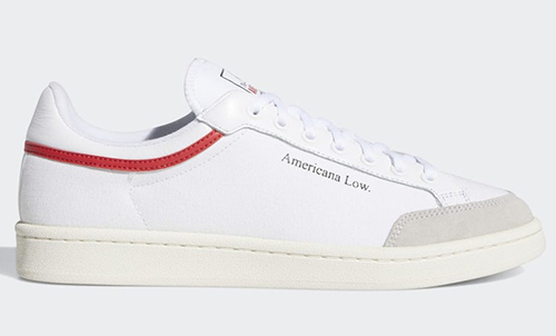 adidas Americana Low White Red Release Date
