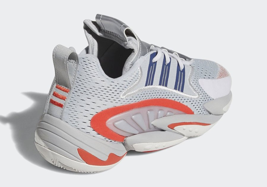 adidas Crazy BYW X 2.0 Silver Red EF6946 Release Date Info