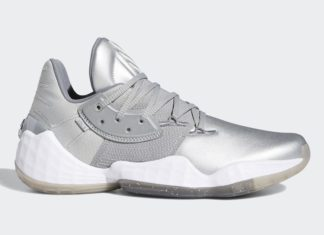 adidas Harden Vol 4 Silver Metallic FW9482 Release Date Info