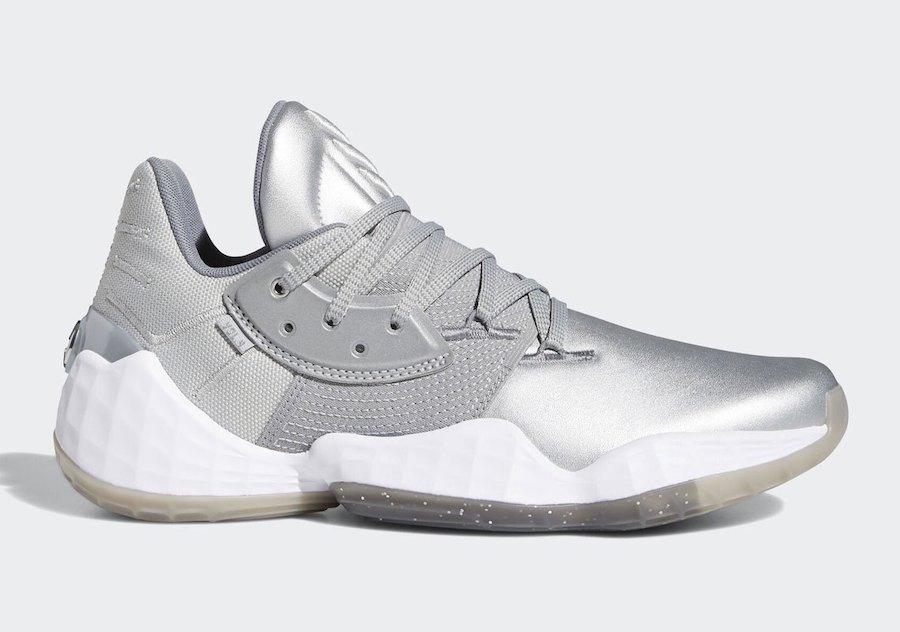 adidas Harden Vol. 4 Silver Metallic