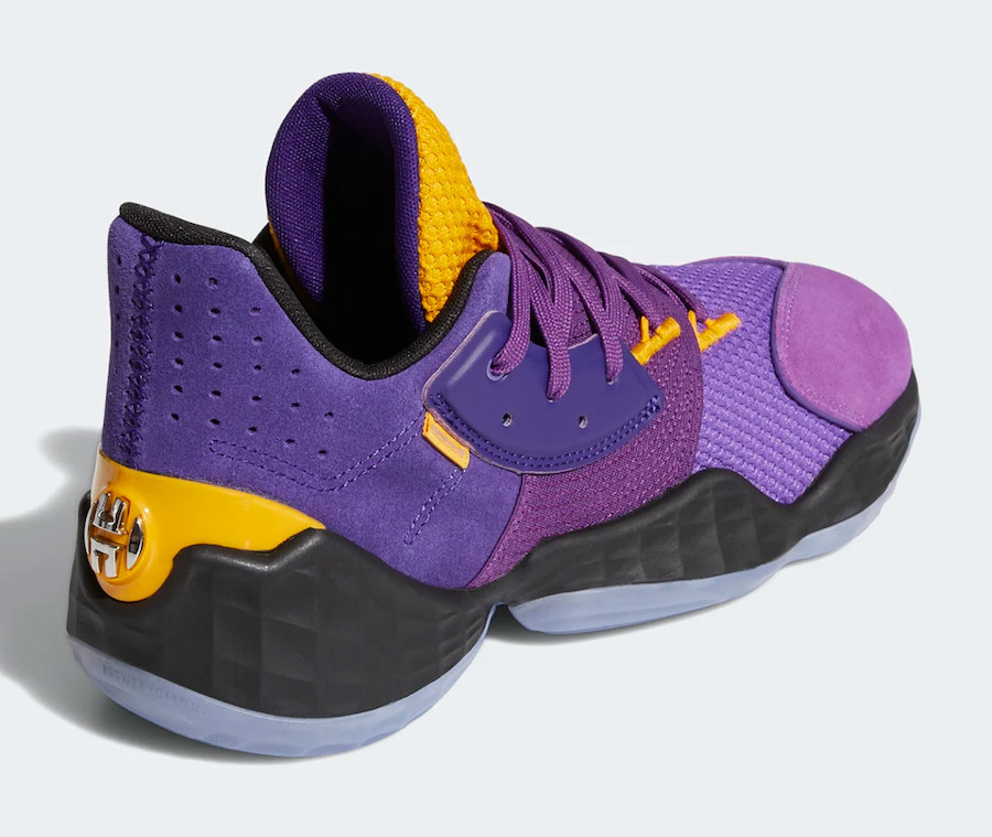 adidas Harden Vol. 4 Casa Lakers FW7496
