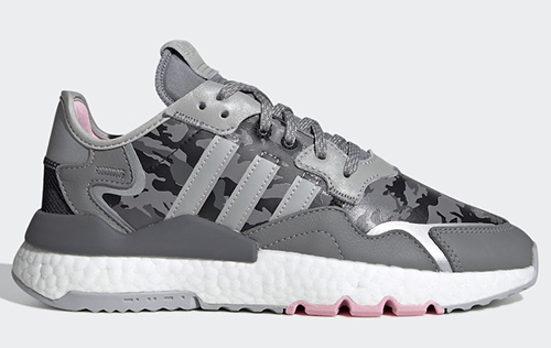 adidas Nite Jogger Camo Grey Pink Release Date