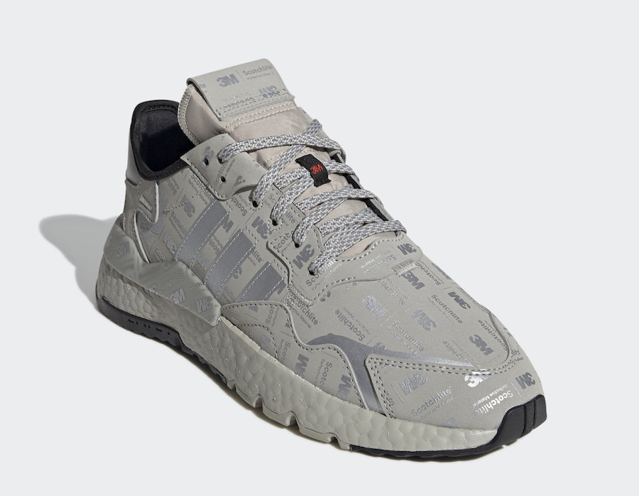 adidas Nite Jogger Reflective Silver Grey FV3622 Release Date Info