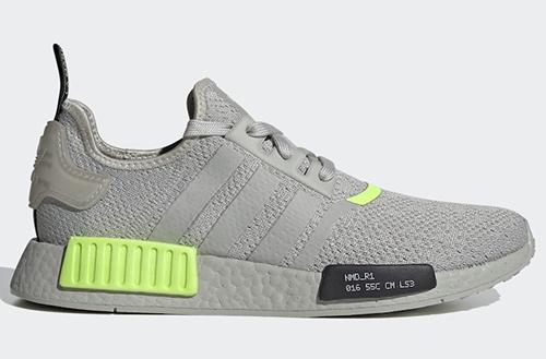 adidas NMD R1 Metal Grey Signal Green Release Date