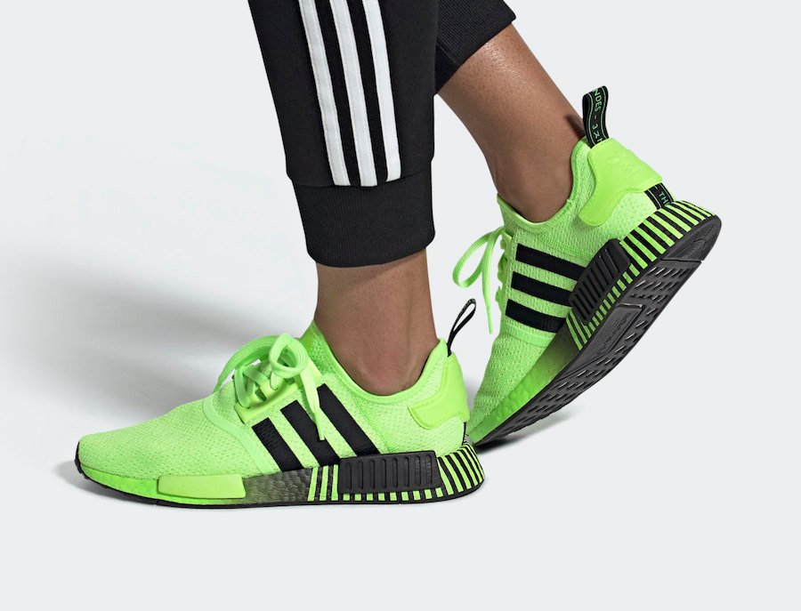 adidas NMD R1 Signal Green FV3647 Release Date Info