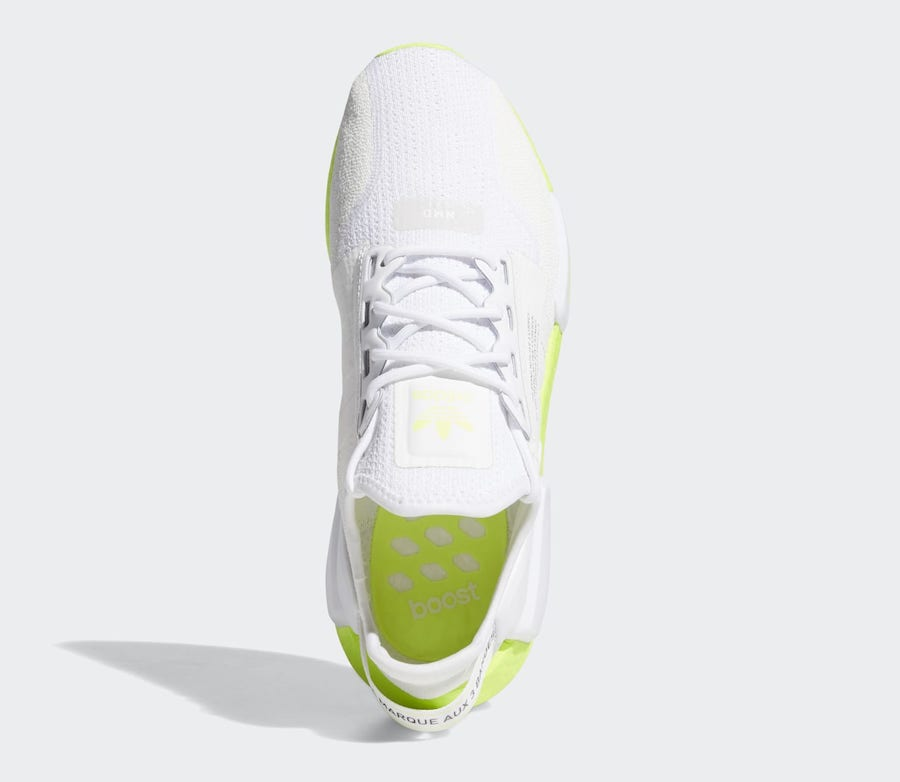 adidas NMD R1 V2 White Volt Boost FX3903 Release Date Info