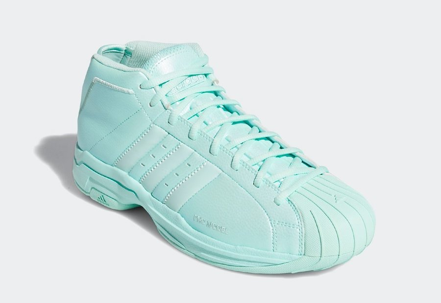 adidas Pro Model 2G Easter Clear Mint EH1952 Release Date Info
