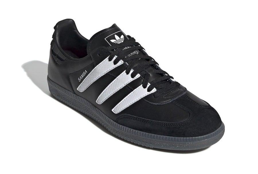 adidas Samba OG Predator Black White EE6520 Release Date Info
