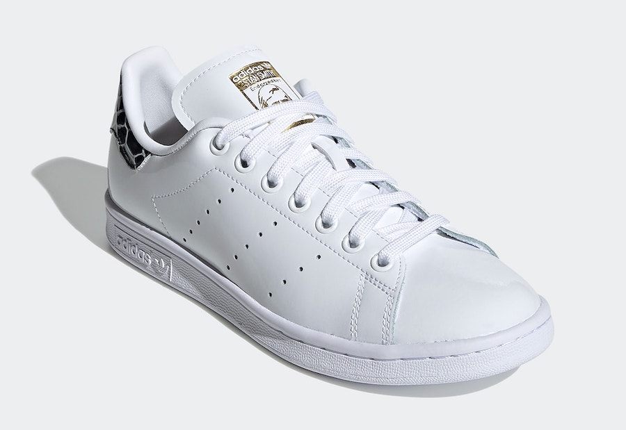 adidas Stan Smith Patent Snakeskin FV3422 Release Date Info