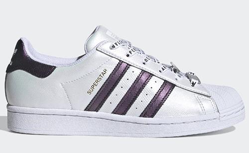 adidas Superstar White Iridescent Three Stripes Release Date